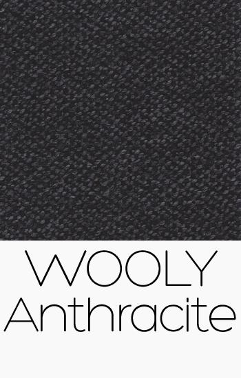 Tissu Wooly Anthracite