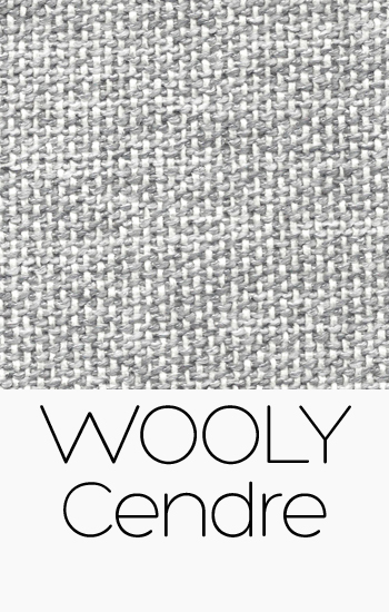 Tissu Wooly Cendre