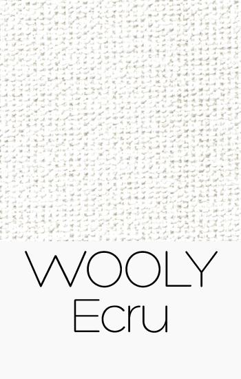 Tissu Wooly Ecru