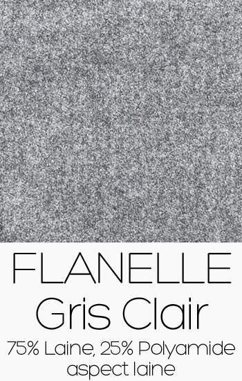 Flanelle Gris clair