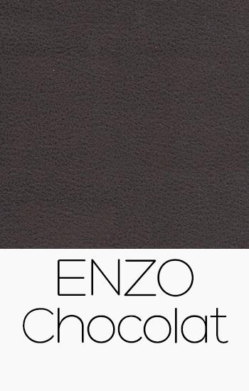 Tissu Enzo Chocolat