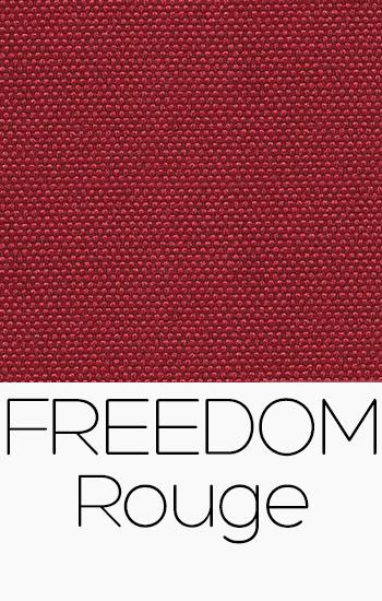 Tissu Freedom Rouge