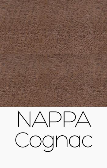Tissu Nappa Cognac