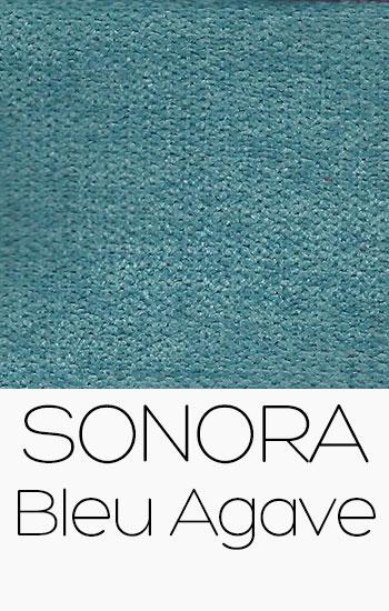 Tissu Sonora Bleu Agave