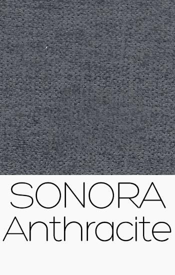 Tissu Sonora Anthracite