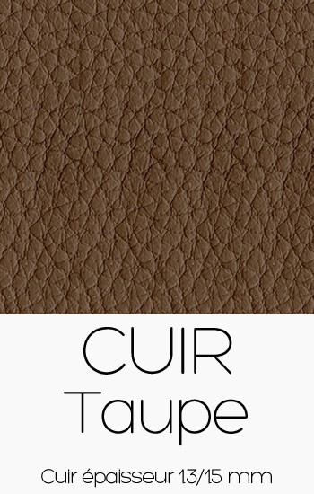 Cuir Taupe