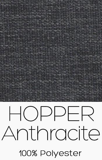 Tissu Hopper Anthracite