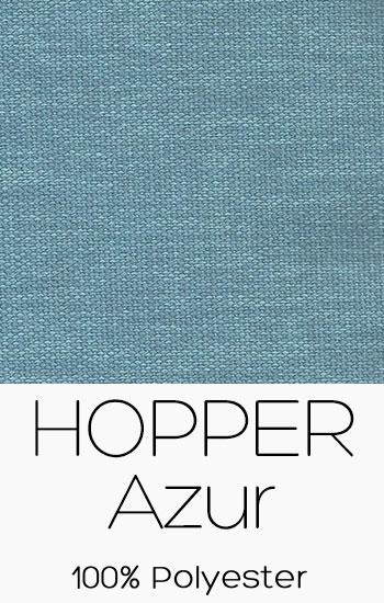Tissu Hopper Azur