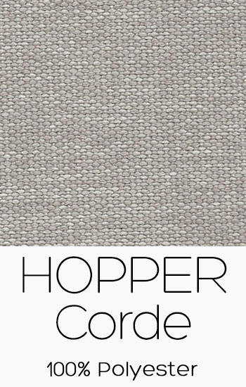 Tissu Hopper Corde