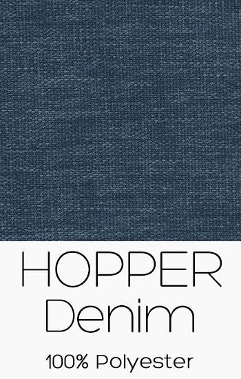 Tissu Hopper Denim