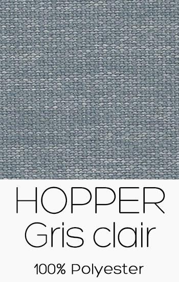 Tissu Hopper Gris clair