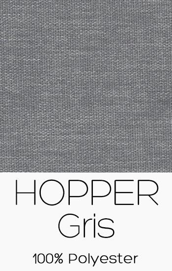 Tissu Hopper Gris