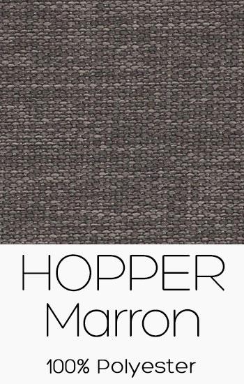 Tissu Hopper Marron