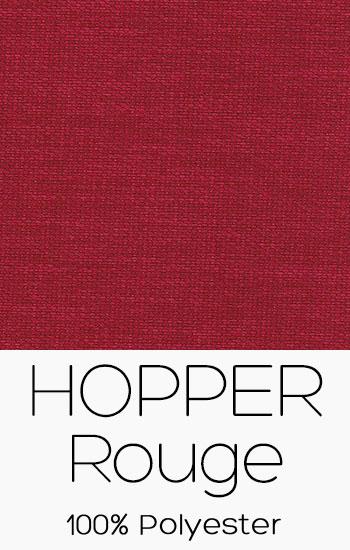 Tissu Hopper Rouge