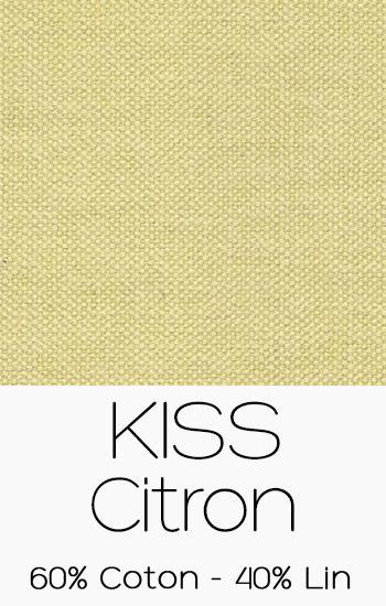 Tissu Kiss Citron