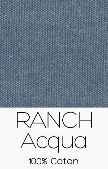 Tissu Ranch Acqua