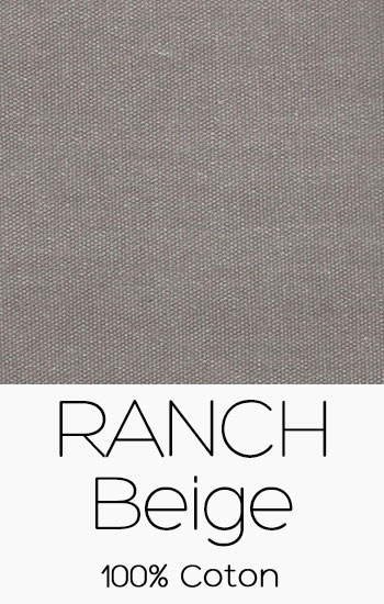 Tissu Ranch Beige