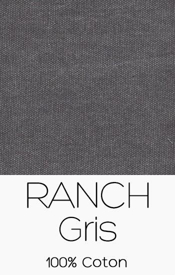 Tissu Ranch Gris