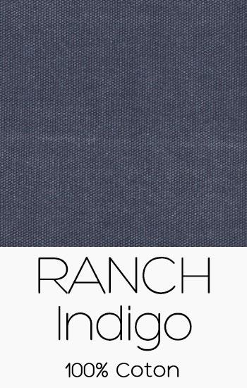 Tissu Ranch Indigo
