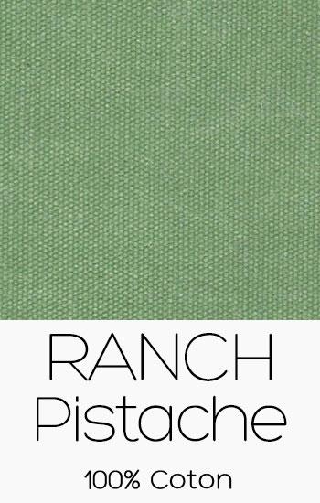 Tissu Ranch Pistache