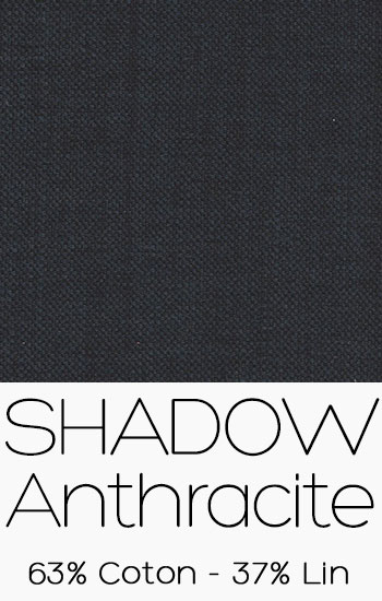 Tissu Shadow Anthracite