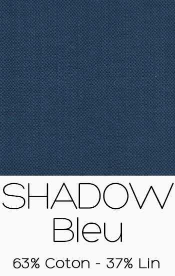 Tissu Shadow Bleu