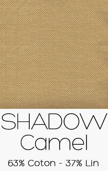 Tissu Shadow Camel