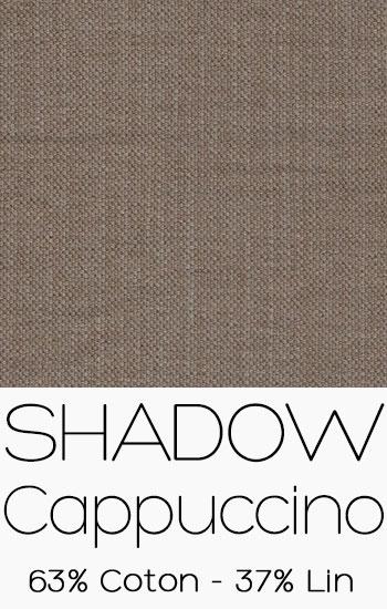 Tissu Shadow Cappuccino