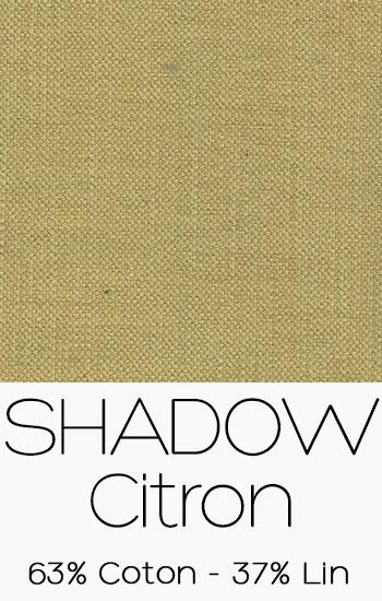Tissu Shadow Citron
