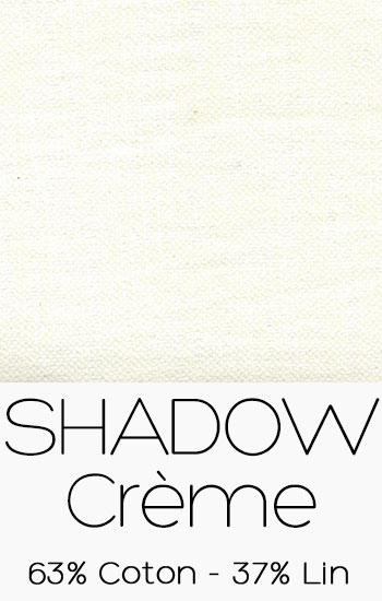 Tissu Shadow Crème