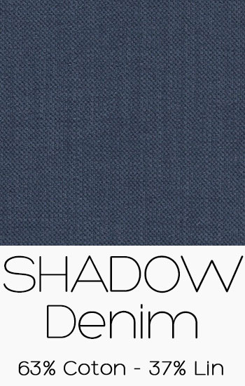 Tissu Shadow Denim