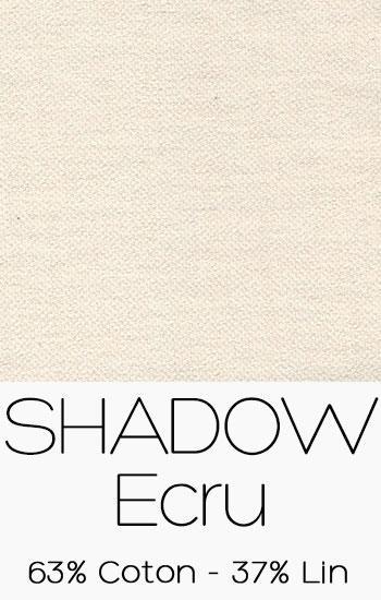 Tissu Shadow Ecru