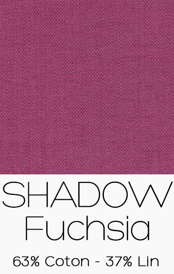 Tissu Shadow Fuchsia