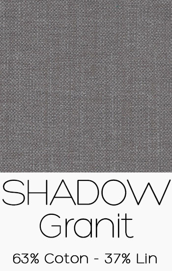 Tissu Shadow Granit