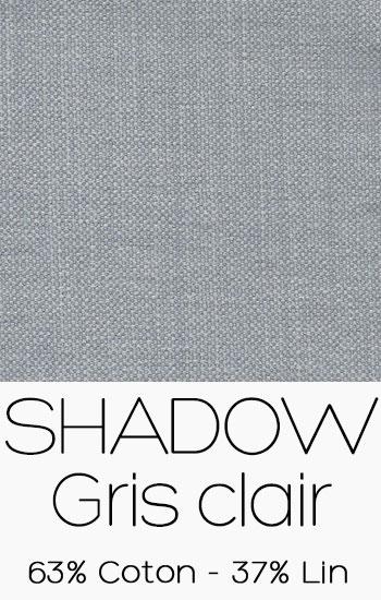 Tissu Shadow Gris clair