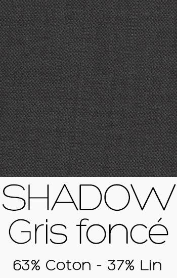Tissu Shadow Gris foncé