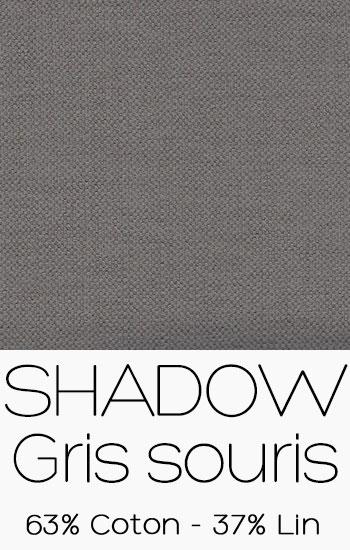 Tissu Shadow Gris souris