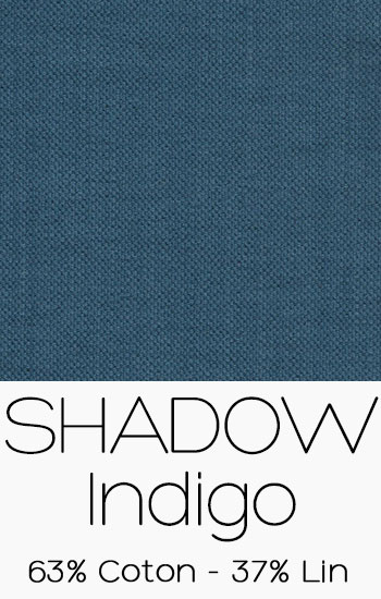 Tissu Shadow Indigo