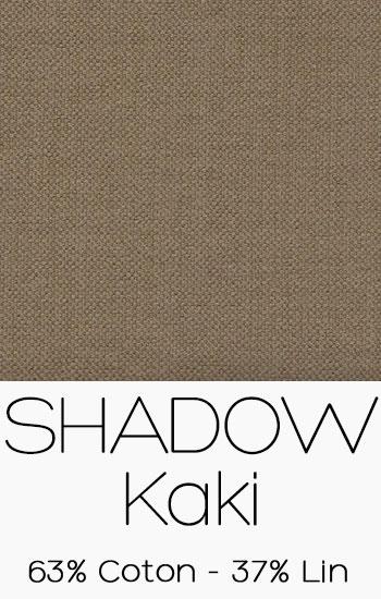 Tissu Shadow Kaki