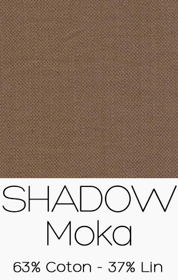 Tissu Shadow Moka