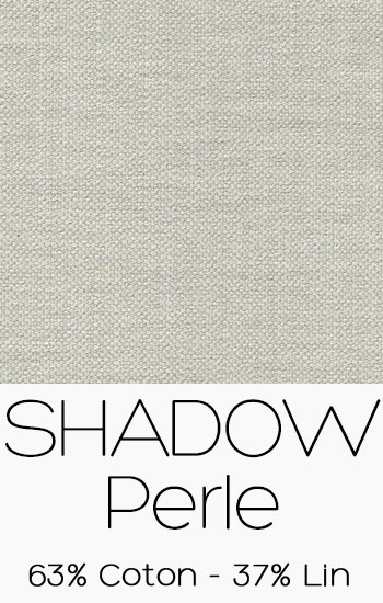 Tissu Shadow Perle