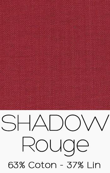 Tissu Shadow Rouge