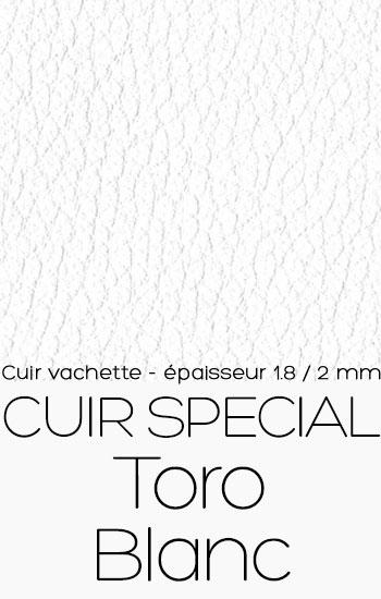 Cuir special Toro Blanc
