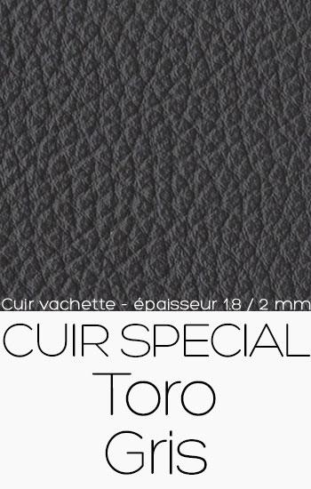Cuir special Toro Gris