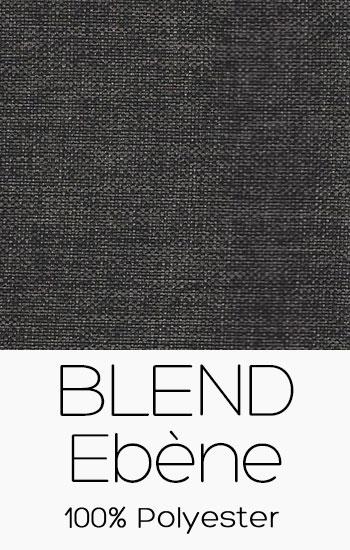 Tissu Blend Ebène