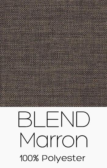 Tissu Blend Marron