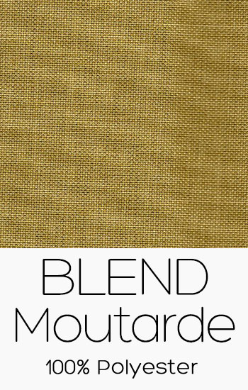 Tissu Blend Moutarde
