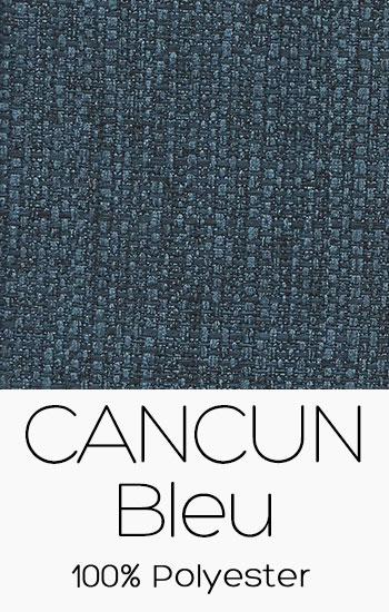 Tissu Cancun Bleu