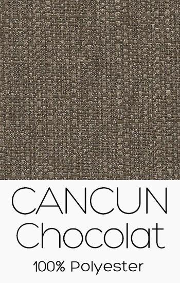 Tissu Cancun Chocolat