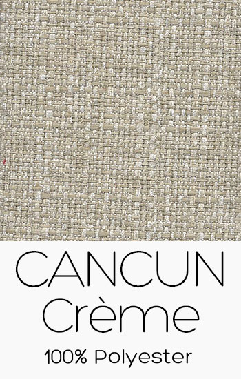 Tissu Cancun Crême